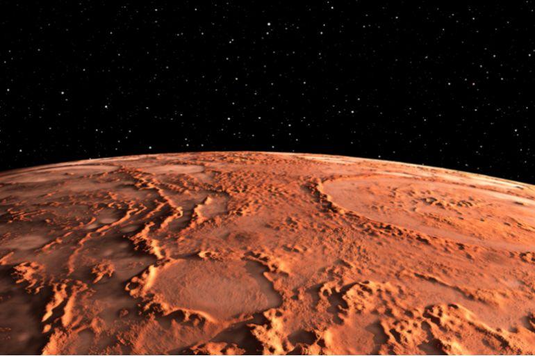 """Эмираты вывели спутник """"Надежда"""" на орбиту Марса"""