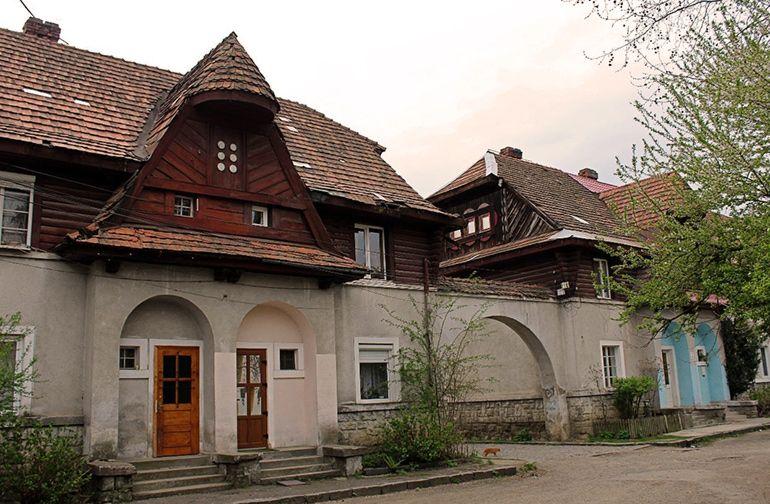 чешский городок в Хусте