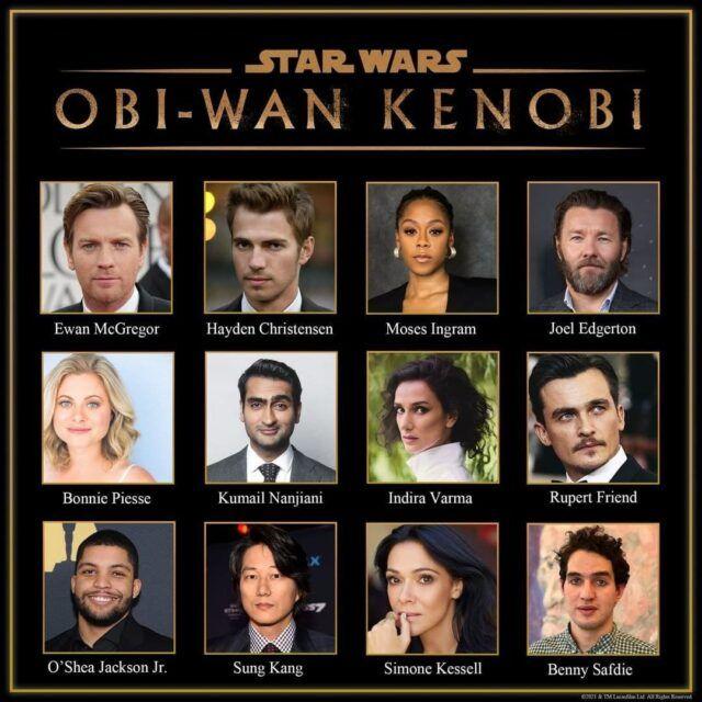 полный каст сериала про Оби-Вана Кеноби