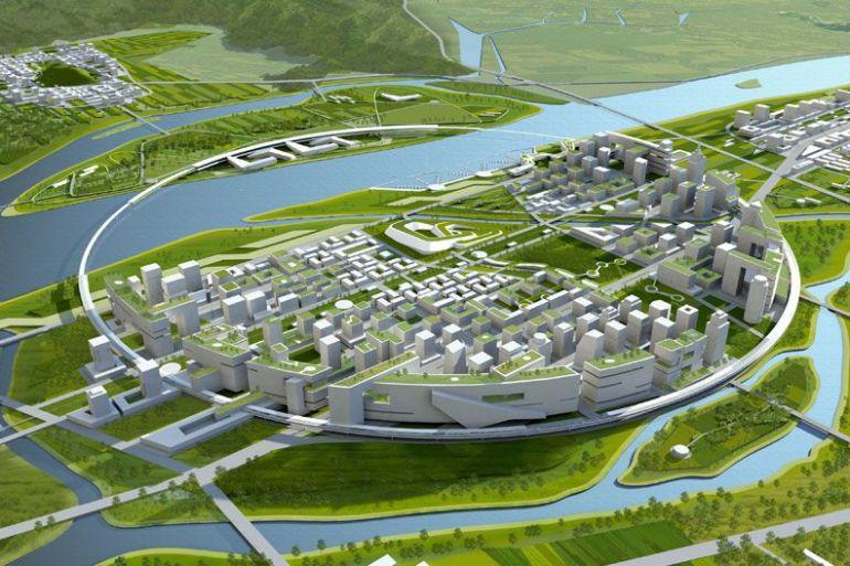 проект посёлка