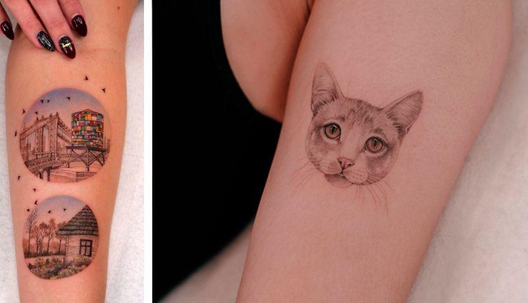 Татуировки для вдохновения