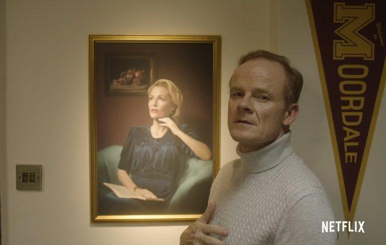 Директор Грофф и портреты в анонсе третьего сезона «Полового воспитания»