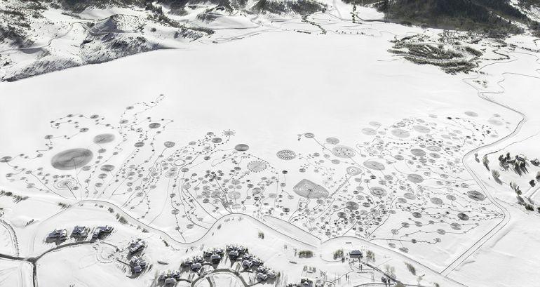 Неймовірний зимовий ленд-арт від Соні Гінрігсен