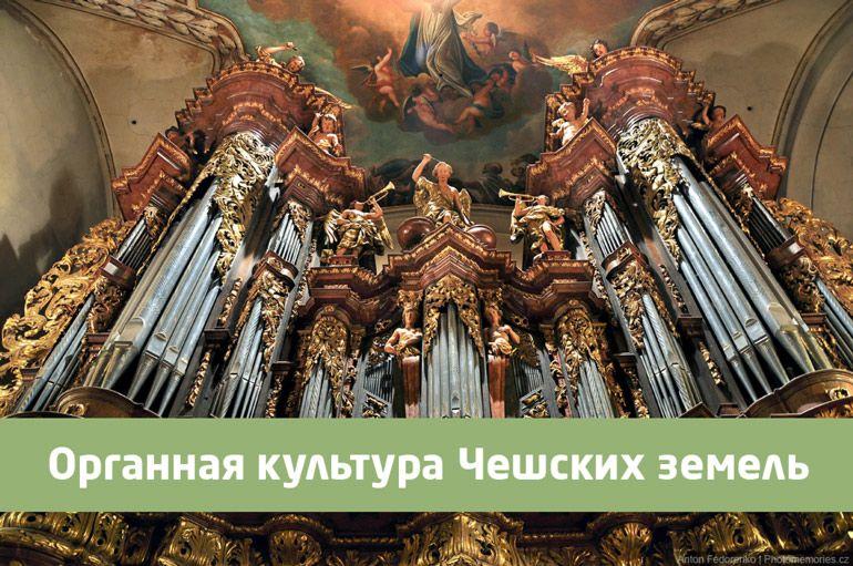 Органная культура Чешских земель. Алёна Мацелюх