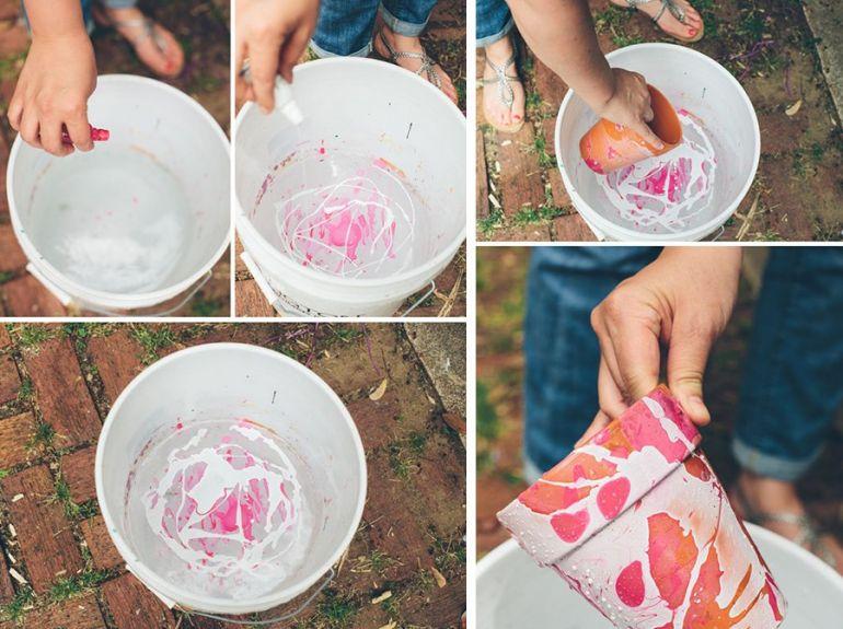 Цветочные горшки своими руками
