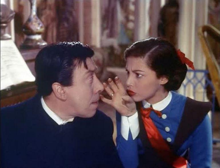 Мадемуазель Нітуш (Mam'zelle Nitouche, 1954)