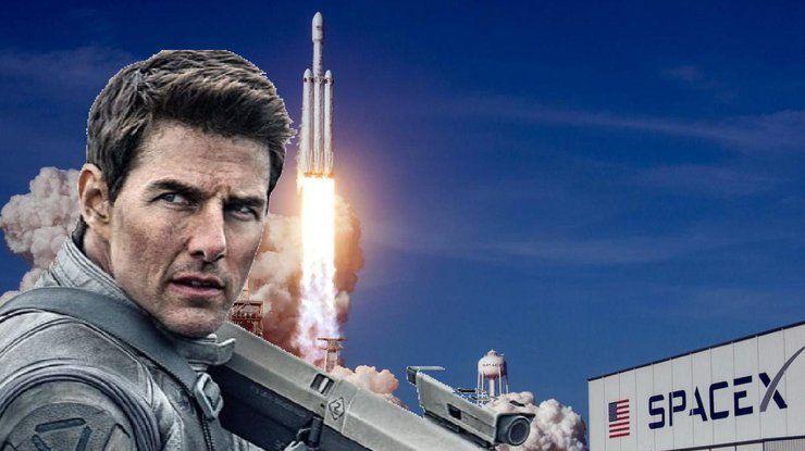 Том Круз получил 200 миллионов долларов на съемки фильма в открытом космосе