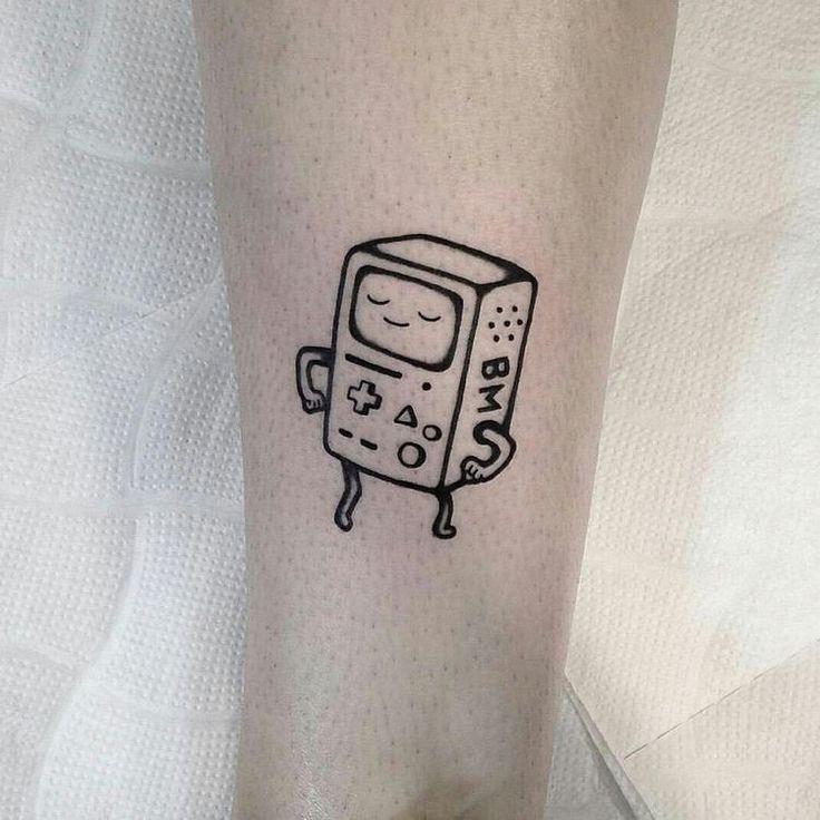 Татуировки с мультиками. Бимо