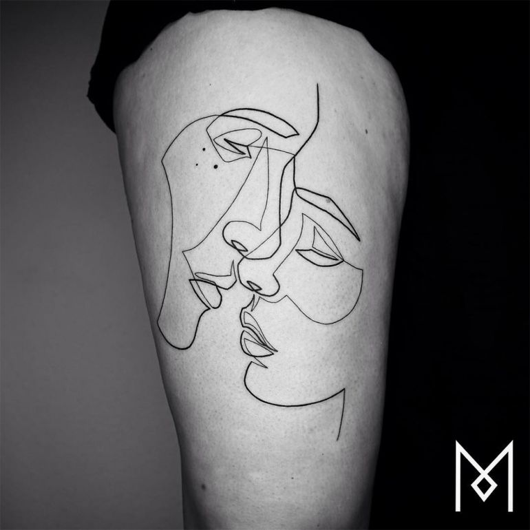 Идеи для татуировок. Минимализм