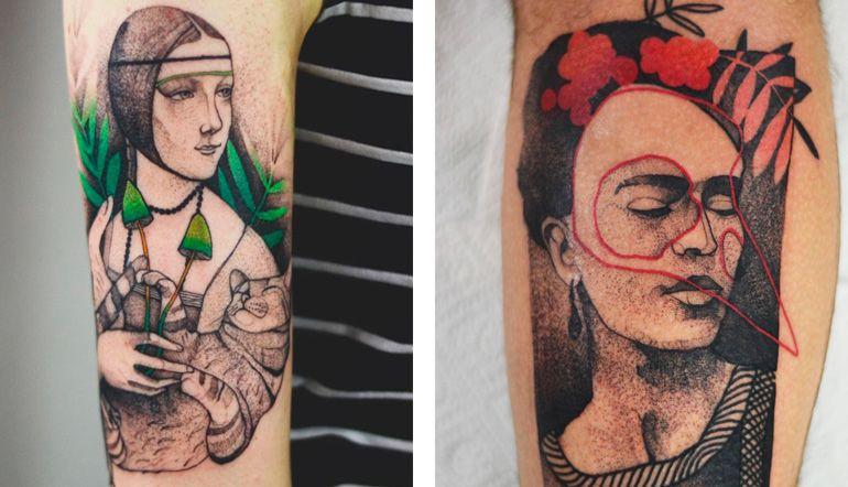 Джоанна Свирска. Татуировки для девушки