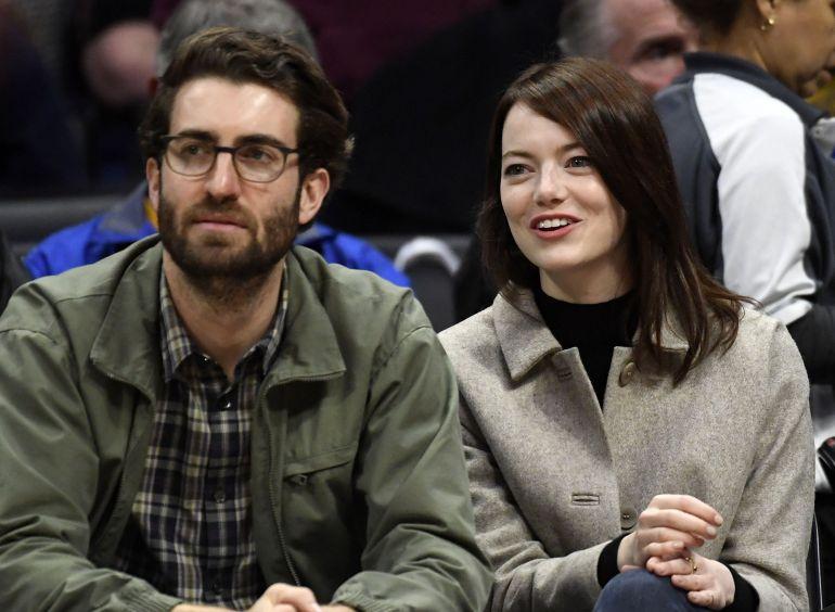 Эмма Стоун и её муж