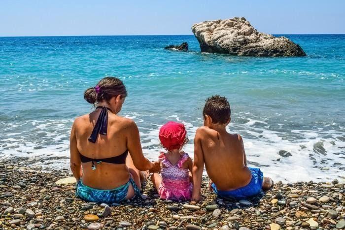 турецкие курорты. Море дети