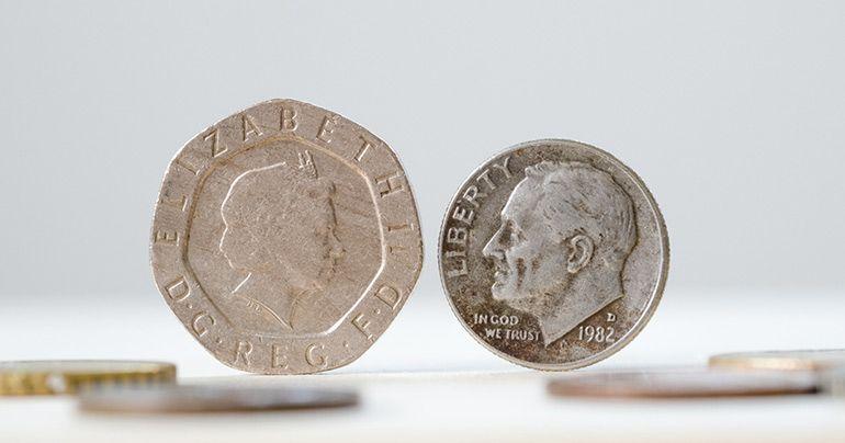 Монеты с Елизаветой