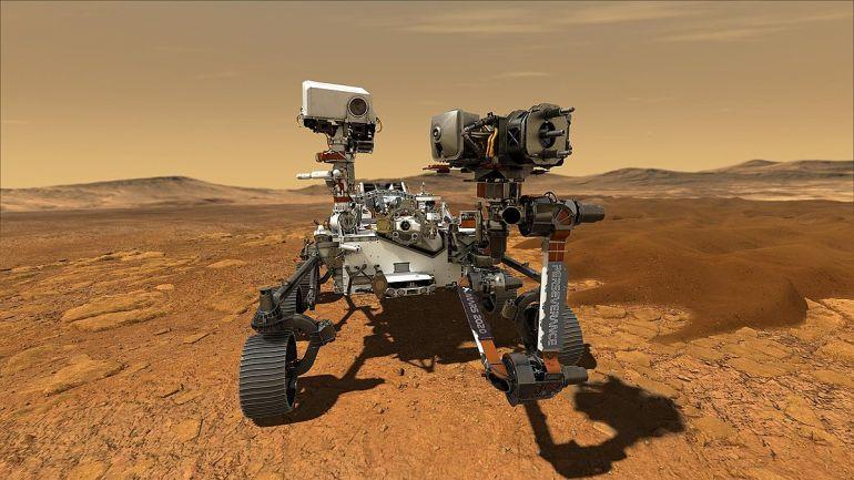 Perseverance готовится к посадке на Марс