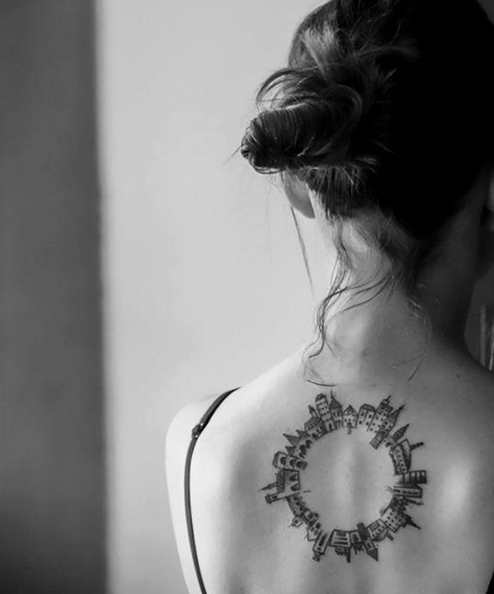 Архитектура и татуировка
