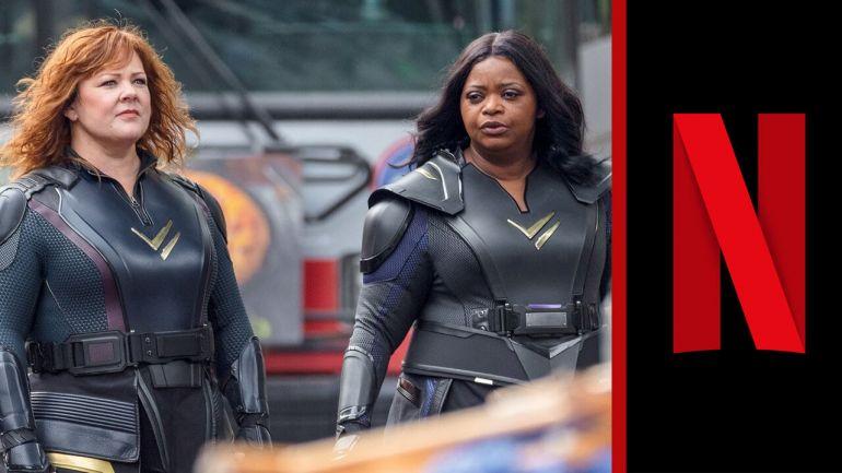 Netflix презентовал трейлер фильма Сила грома
