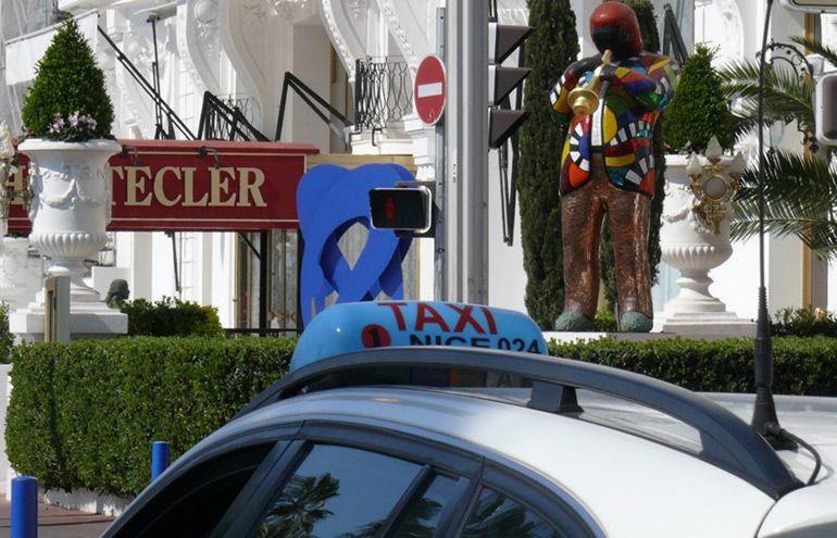 Служба русского такси в Ницце