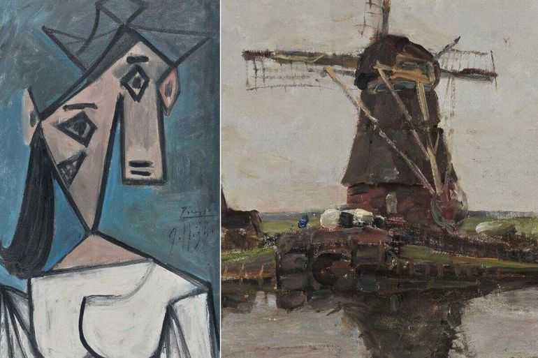 В Афінах знайшли картини Пікассо та Мондріана