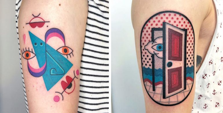 татуировки от Winston the Whale