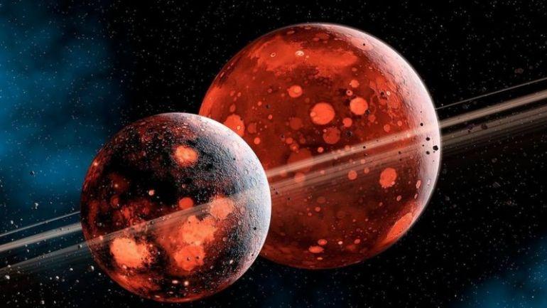 Луна образовалась из обломков, выброшенных в космос Теей