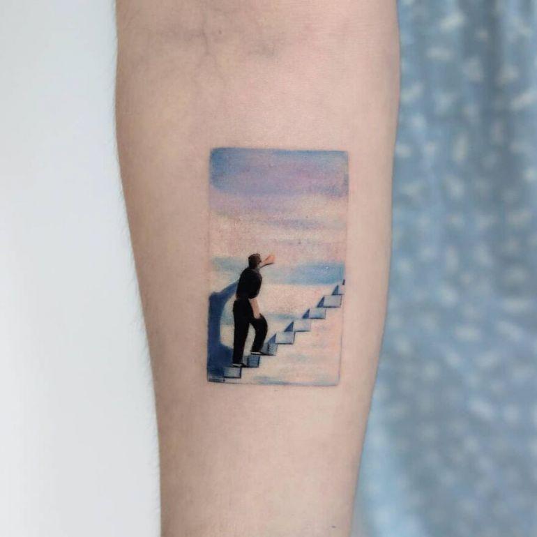 Эскиз тату. Популярные персонажи и картины на тату
