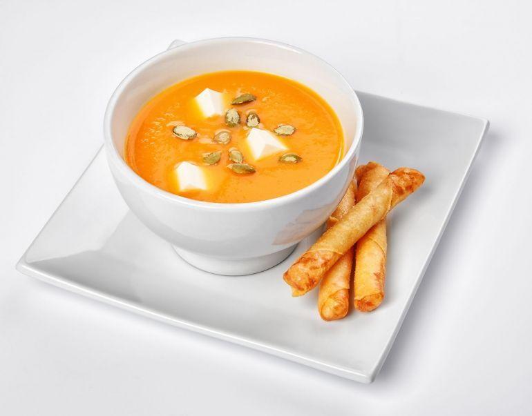Блюда из тыквы. Крем суп