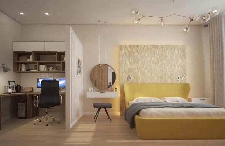 кабинет со спальней