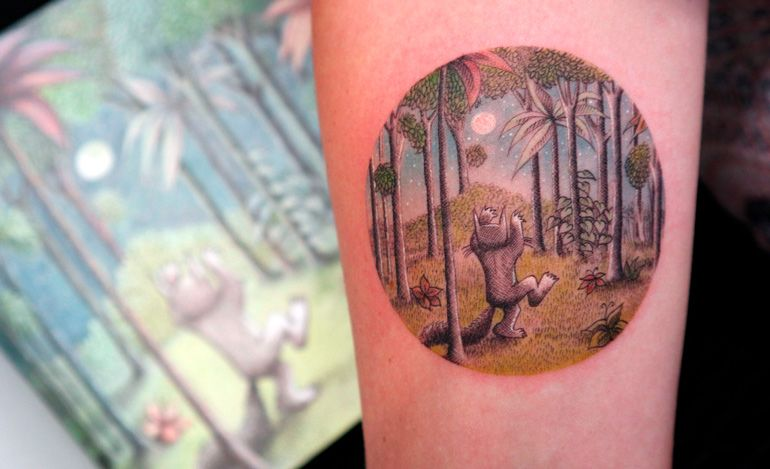 Eva Krbdk. Татуировка как произведение искусства