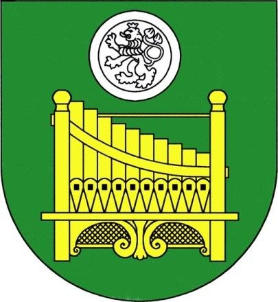 Coat of arms and flag of the city of Citoliby