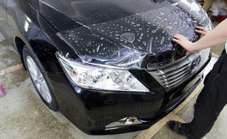 бронирование капота автомобиля