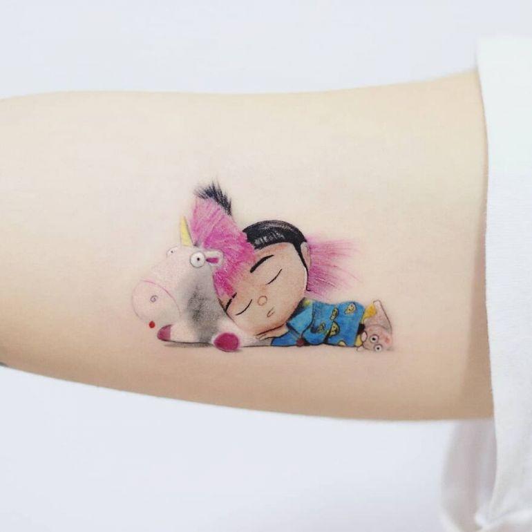 популярные персонажи и картины на тату