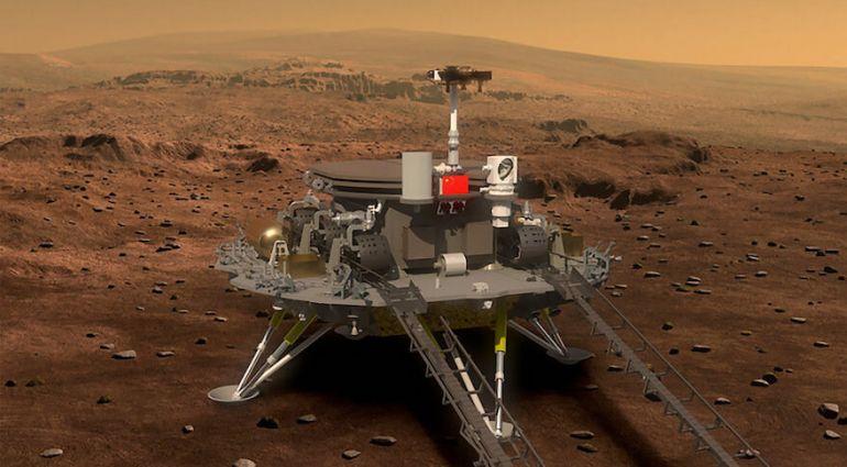 Новини науки. Китайський ровер «Чжужун» з'їхав на поверхню Марса