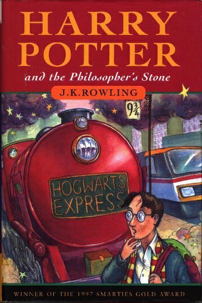 Книга о Гарри Поттере на английском