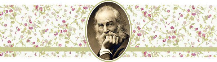 Walt Whitman. Short poems