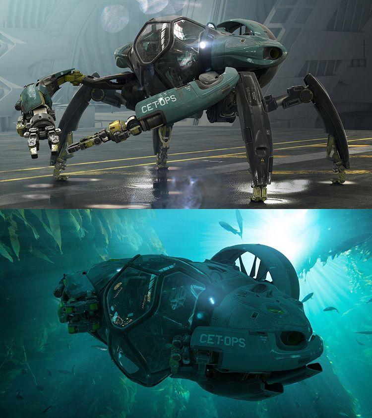 Продюсер показал, как будет выглядеть транспорт в Аватаре 2