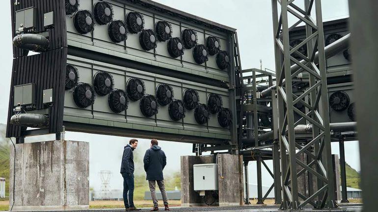 В Исландии заработал завод по выкачиванию углекислого газа
