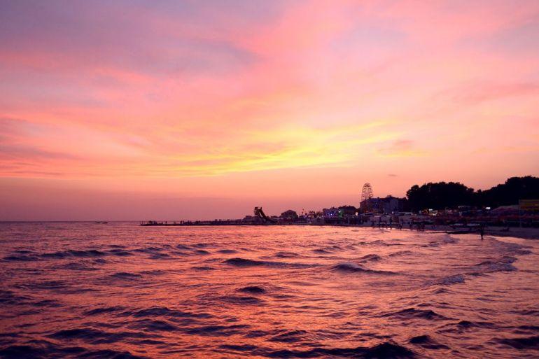 Романтический и активный отдых на море