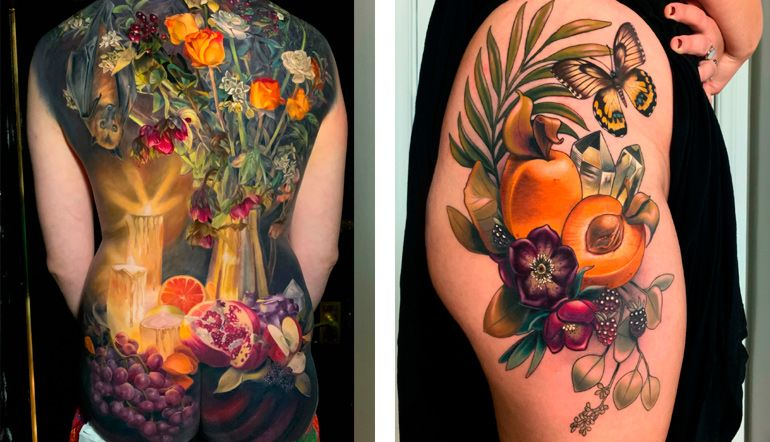 Makkala Rose Татуировки как картины