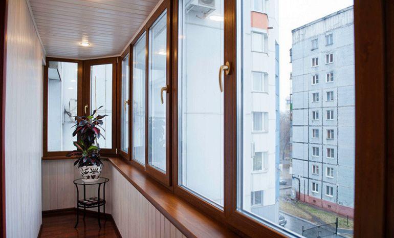 остекление на балконе