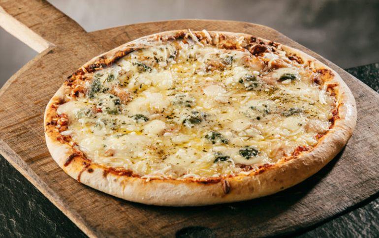 пицца ссыром