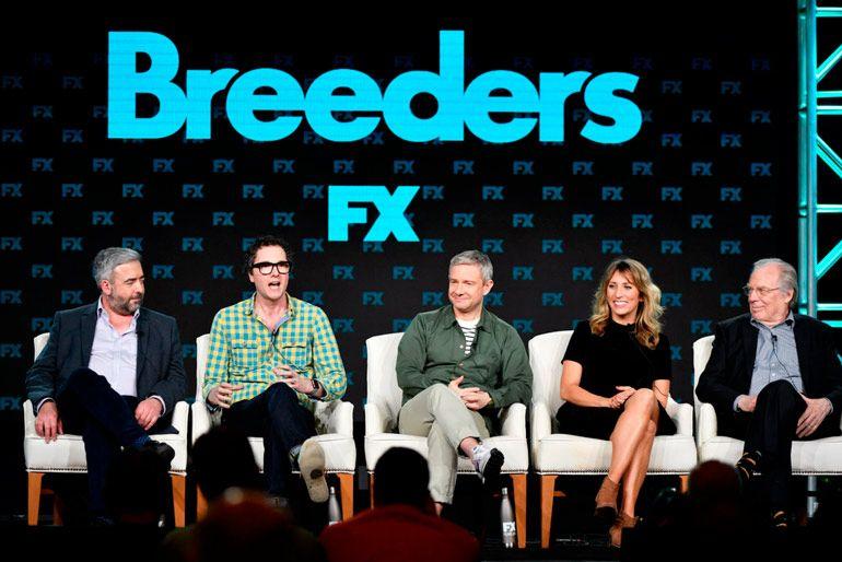 Что посмотреть. Breeders. Британский комедийный сериал с Мартином Фриманом в главной роли.