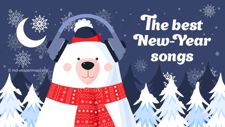 To listen to New-Year and Christmas songs
