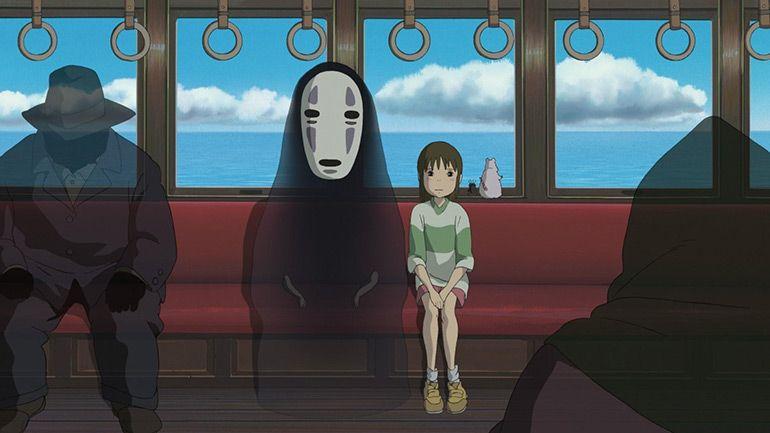 мультфильм Миядзаки Унесённые призраками