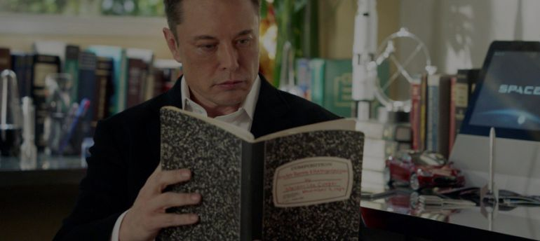 Книга до Марса доведёт. Что читает Илон Маск