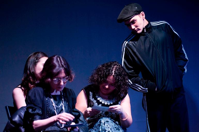 Спектакль Чернильница от театра Les Partisans Рецензия