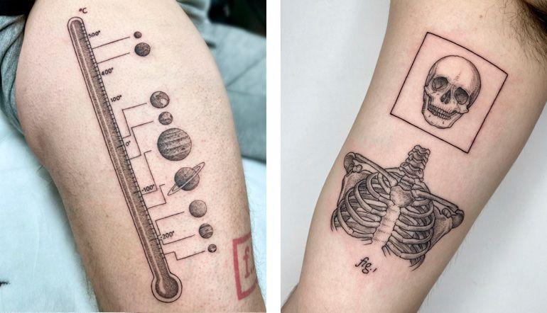 Татуировки. Итальянский мастер Микеле Вольпи