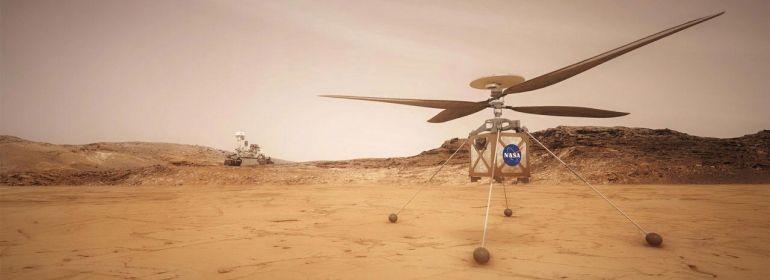 Последние новости о Марсе. Марсоход Perseverance и вертолёт Ingenuity