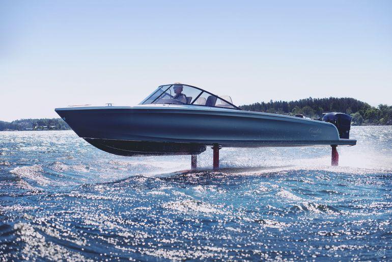 Летающая лодка для каналов Венеции