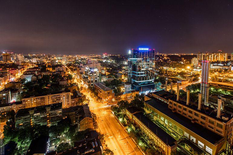 Ночная жизнь в Киеве