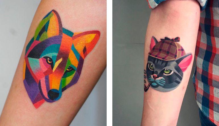 Саша Unisex Татуировки